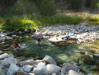 Awesome hot water(Granite Creek)